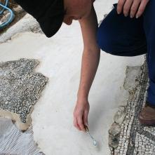Temporary reconstructive mortar
