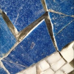 Removal of the deteriorated grout.